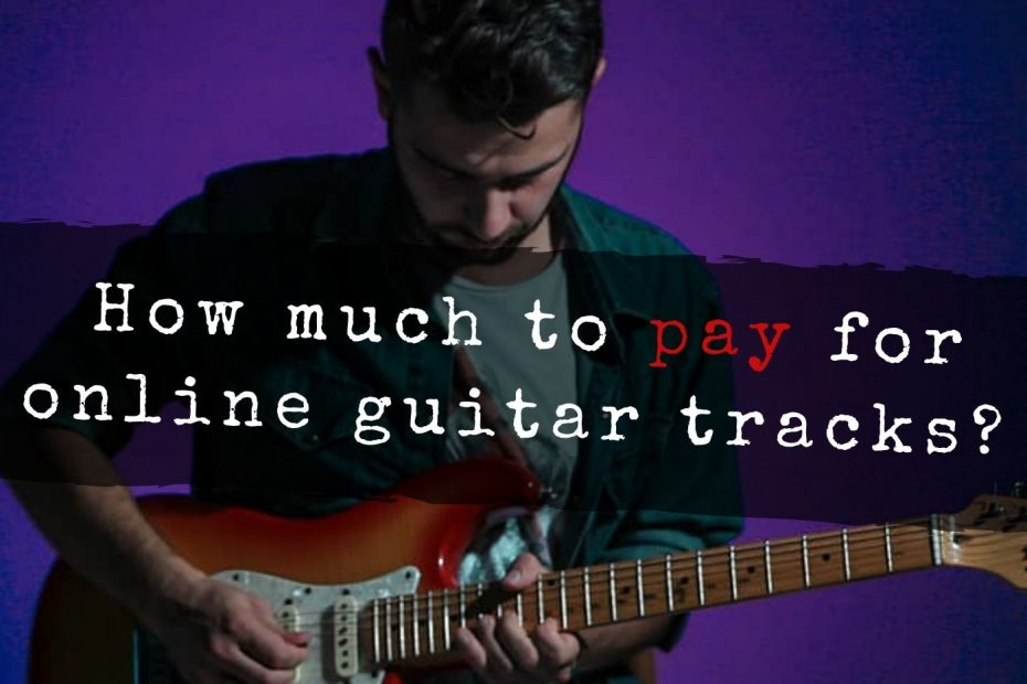 How much does it cost to hire a online session guitarist