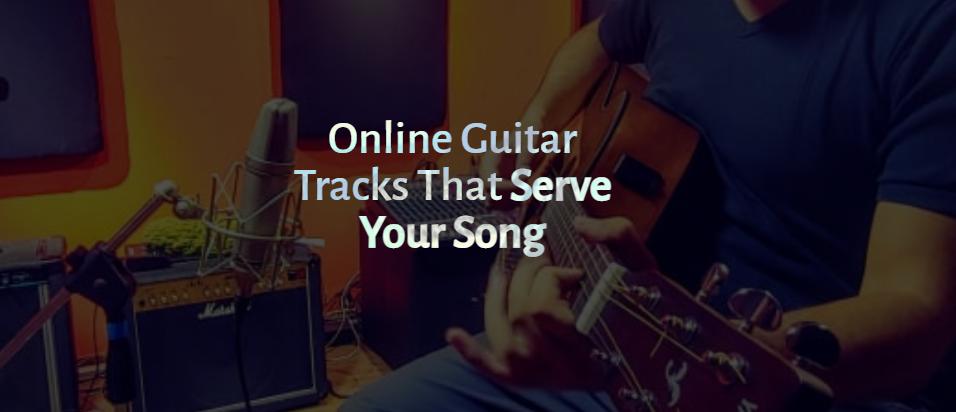 Remote session guitarist