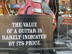 Recording with cheap guitars