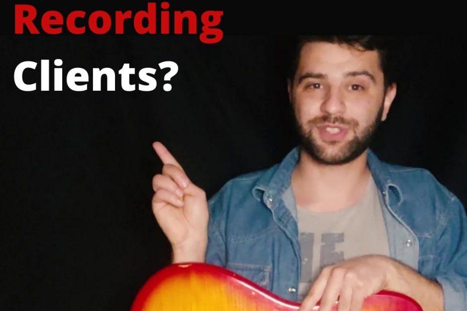 Remote session musician