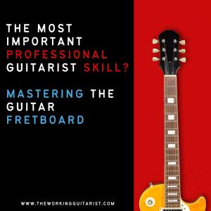 Professional guitarist skills